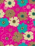 seamless blom- modell Royaltyfria Bilder