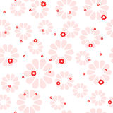 seamless blom- modell Royaltyfria Foton