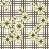 seamless blom- modell Arkivbilder