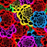 seamless blom- modell 3 Royaltyfri Foto