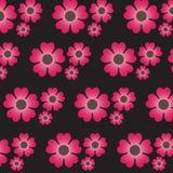 seamless blom- modell Fotografering för Bildbyråer