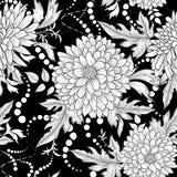 seamless blom- modell abstrakt begrepp blommar dekorativt Royaltyfria Foton