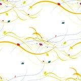 seamless blom- modell Abstrakt begrepp vinkar med Royaltyfri Foto