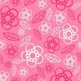 seamless blom- modell Blommor texturerar tusensköna Royaltyfri Fotografi