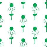 seamless blom- modell Härlig dragen textur för vektor hand Romantisk bakgrund för webbsidor som gifta sig inbjudningar, Royaltyfri Illustrationer