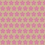 seamless blom- modell Körsbärsröda blomningar blomma Cherry Arkivfoto