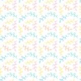 seamless blom- modell Pastellfärgad vektorbakgrund Textiltryck, linneprydnad eller förpackande design vektor illustrationer