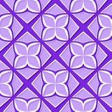 seamless blom- modell Violetta och för lila 3d designer Royaltyfri Bild