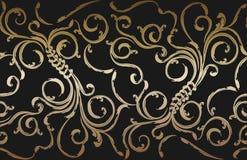seamless blom- prydnad Royaltyfri Fotografi