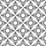 seamless blom- prydnad Arkivfoton