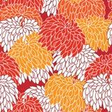 seamless blom- prydnad vektor illustrationer