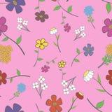seamless blom- rose Royaltyfri Bild