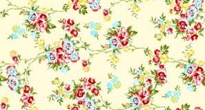 seamless blomma Arkivfoto