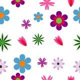 seamless blommamodell Arkivbild