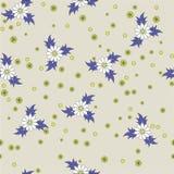 seamless blommamodell Arkivbilder