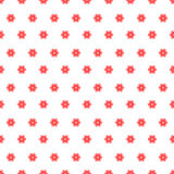seamless blommamodellpink Royaltyfri Foto