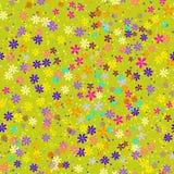 Seamless blommor royaltyfri illustrationer