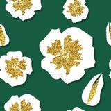 seamless blomningCherrymodell Arkivbilder