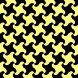 Seamless swirl pattern. Seamless blue abstract swirl pattern Stock Photography