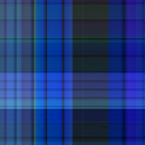 Seamless Blue Check Fabric Royalty Free Stock Image