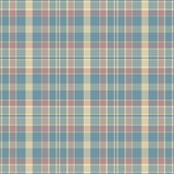 Seamless blue check texture. Stock Photography