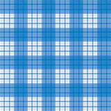 Seamless blue checked pattern Royalty Free Stock Images