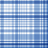 Seamless blue checkered pattern. Vector illustration  Royalty Free Stock Image