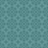 Seamless blue circle pattern Stock Images