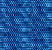 Seamless Blue Dot Pattern