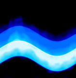 Seamless blue energy wave Royalty Free Stock Image