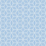 Seamless blue geometric texture. Royalty Free Stock Photography