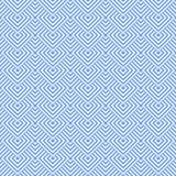 Seamless blue geometric texture. Royalty Free Stock Photos