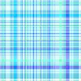 Seamless blue gingham pattern Royalty Free Stock Photo