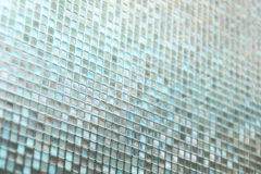 Seamless blue glass tiles texture background Royalty Free Stock Photo