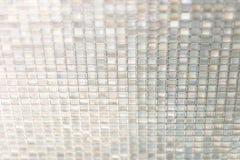 Seamless blue glass tiles texture background,window, kitchen or Royalty Free Stock Photos