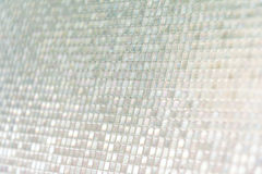 Seamless blue glass tiles texture background Stock Images