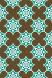 Seamless blue harmony pattern royalty free stock photography
