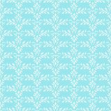 Seamless blue indian ornament wallpaper Royalty Free Stock Photography
