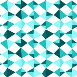 Seamless Blue Kite Squares Triangles. Blue kites flying. Seamless tiles pattern background vector illustration