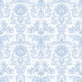 Seamless blue lace Stock Images