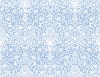 Seamless white lace Stock Photography