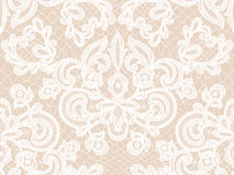 Seamless blue lace Royalty Free Stock Images
