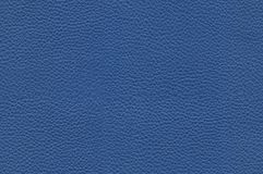 Seamless blue leather texture royalty free stock photography