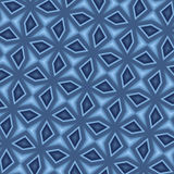 Seamless blue mosaic Royalty Free Stock Image