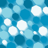 Seamless blue pattern Royalty Free Stock Images