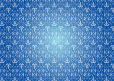 Seamless blue pattern Royalty Free Stock Photos