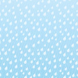 Seamless blue pattern with raindrops. Stock Image