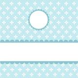 Seamless blue pattern, wallpaper. Digital scrapbook vector illustration
