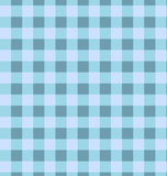 Seamless blue plaid pattern Stock Images
