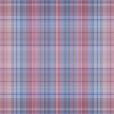 Seamless blue red check texture. Royalty Free Stock Photos
